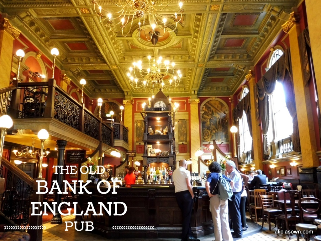 BANK OF ENGLAND PORTADA